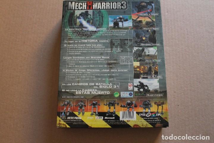 Videojuegos y Consolas: MECH WARRIOR 3 PC BOX CAJA CARTON - Foto 2 - 98695507