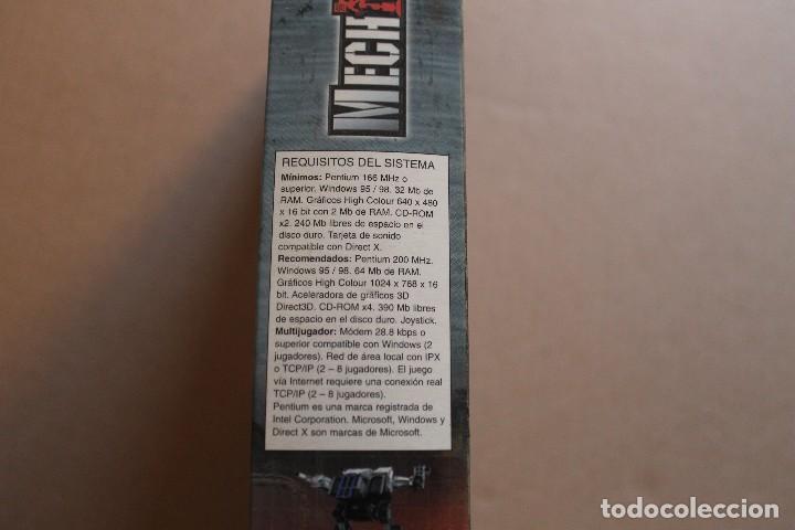 Videojuegos y Consolas: MECH WARRIOR 3 PC BOX CAJA CARTON - Foto 3 - 98695507