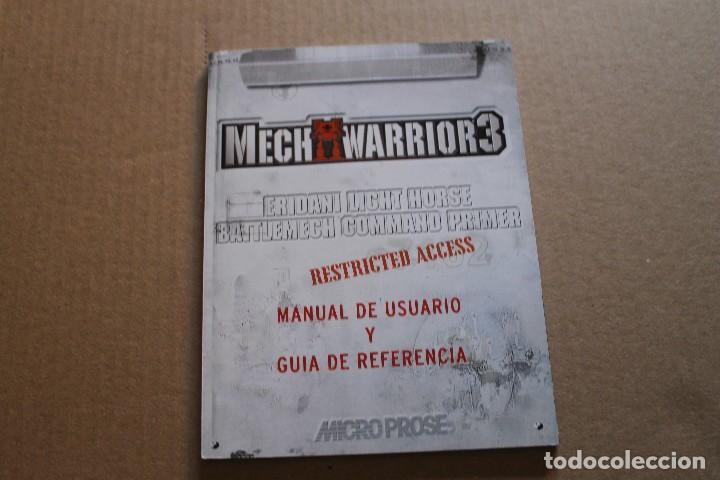 Videojuegos y Consolas: MECH WARRIOR 3 PC BOX CAJA CARTON - Foto 7 - 98695507