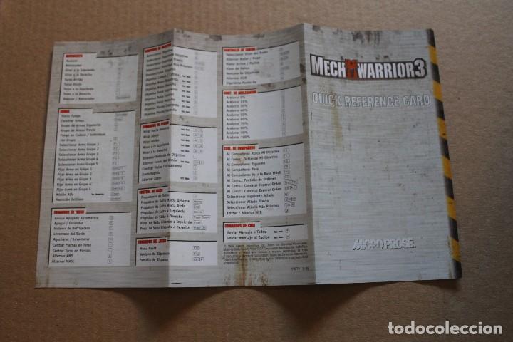 Videojuegos y Consolas: MECH WARRIOR 3 PC BOX CAJA CARTON - Foto 9 - 98695507