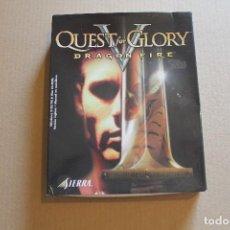 Videojuegos y Consolas: QUEST GLORY V DRAGON FIRE PC BOX CAJA CARTON. Lote 98703607