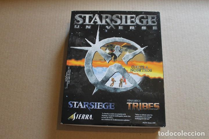 STARSIEGE UNVERSE PC BOX CAJA CARTON (Juguetes - Videojuegos y Consolas - PC)