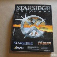 Videojuegos y Consolas: STARSIEGE UNVERSE PC BOX CAJA CARTON. Lote 98703967
