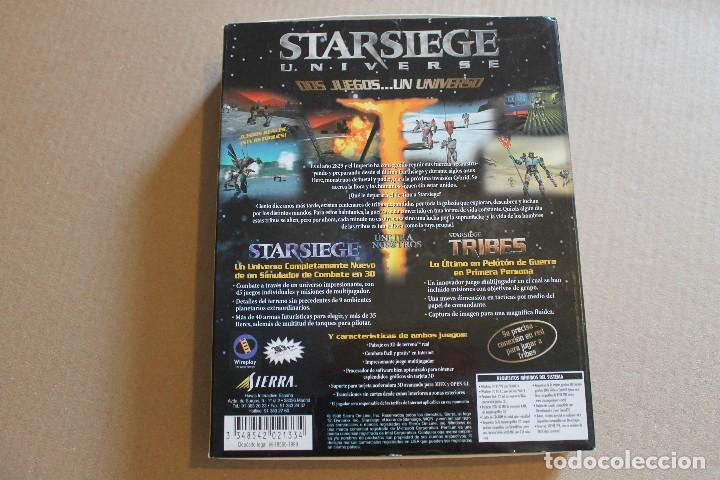 Videojuegos y Consolas: STARSIEGE UNVERSE PC BOX CAJA CARTON - Foto 2 - 98703967