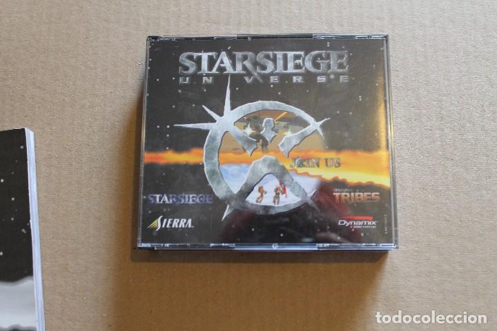 Videojuegos y Consolas: STARSIEGE UNVERSE PC BOX CAJA CARTON - Foto 7 - 98703967