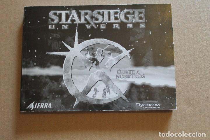 Videojuegos y Consolas: STARSIEGE UNVERSE PC BOX CAJA CARTON - Foto 8 - 98703967