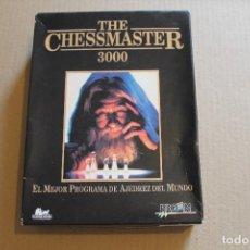 Videojuegos y Consolas: THE CHESSMASTER 3000 PC BOX CAJA CARTON. Lote 98704727