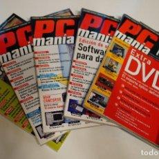 Videojuegos y Consolas: PACK REVISTA PCMANIA + CDS - NÚMEROS DEL 78 AL 82 - 5 REVISTAS - ABRIL 1999 A AGOSTO 1999. Lote 98705151