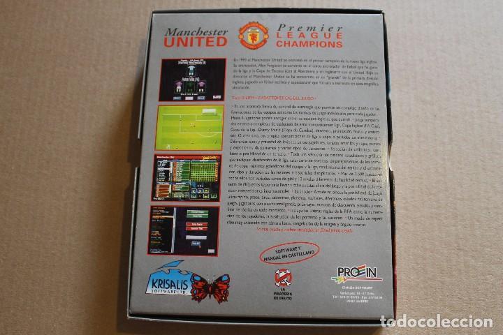 Videojuegos y Consolas: MANCHESTER UNITED PREMIER LEAGUE CHAMPIONS PC 3 1/2 DISKETTE BOX CAJA CARTON - Foto 2 - 98705915