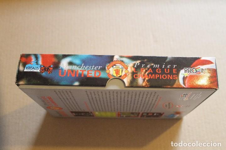Videojuegos y Consolas: MANCHESTER UNITED PREMIER LEAGUE CHAMPIONS PC 3 1/2 DISKETTE BOX CAJA CARTON - Foto 5 - 98705915