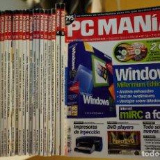 Videojuegos y Consolas: PACK REVISTA PCMANIA 2A ÉPOCA - NÚMEROS: 12 AL 39 - 27 REVISTAS+CDS - OCTUBRE 2000 A ENERO 2003. Lote 98944615