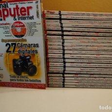 Videojuegos y Consolas: PACK REVISTA PERSONAL COMPUTER (EX PCMANIA) - 1 AL 23 - 22 REVISTAS+CDS - FEBRERO 2003 A DIC 2004. Lote 98944703