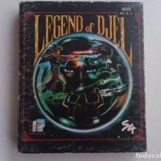 Videojuegos y Consolas: JUEGO PC LEGEND OF DJEL 5,25 S4 TOMAHAWK. Lote 99277759