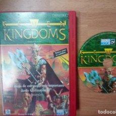 Videojuegos y Consolas: SEVEN KINGDOMS - PC - ESTRATEGIA. Lote 99518879