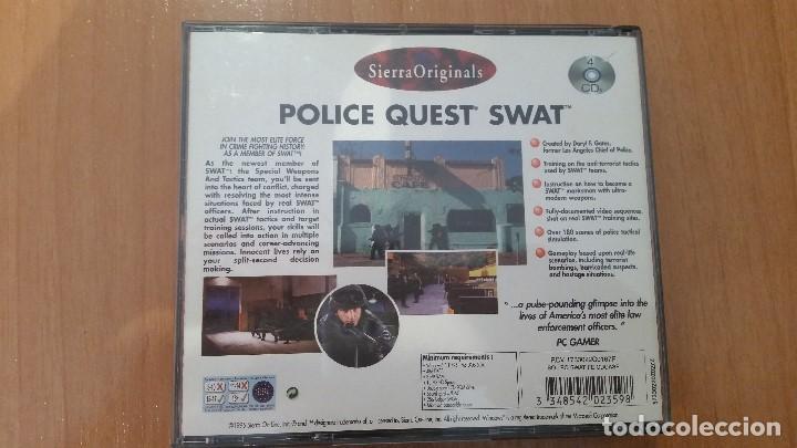 Videojuegos y Consolas: SWAT Police Quest (Sierra Originals) - VIDEOJUEGO - Juego - Foto 4 - 100512391
