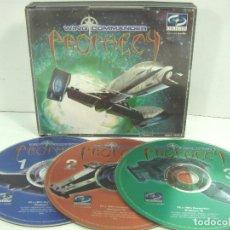 Videojuegos y Consolas: VIDEO JUEGO CD PC- PROPHECY -WING COMMANDER - ORIGIN 1997 - VIDEOJUEGO ORDENADOR CDS. Lote 100631395