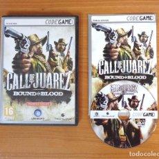 Videojuegos y Consolas: JUEGO PC 'CALL OF JUAREZ, BOUND IN BLOOD', TOTALMENTE EN CASTELLANO.. Lote 101010727