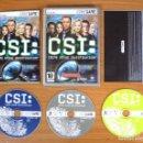 Videojuegos y Consolas: JUEGO PC 'CSI, CRIME SCENE INVESTIGATION', TOTALMENTE EN CASTELLANO.. Lote 101010907