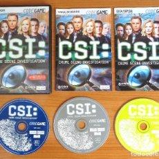 Videojuegos y Consolas: JUEGO PC 'CSI, CRIME SCENE INVESTIGATION'.. Lote 101011043