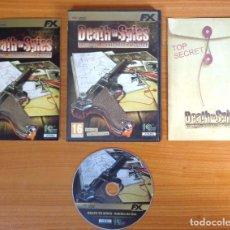 Videojuegos y Consolas: JUEGO PC 'DEATH TO SPIES', TOTALMENTE EN CASTELLANO.. Lote 101011463