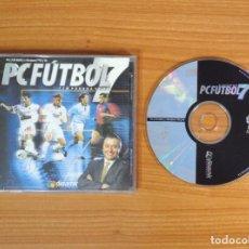 Videojuegos y Consolas: JUEGO PC 'PC FUTBOL 7'.. Lote 101013255