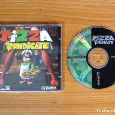 Videojuegos y Consolas: JUEGO PC 'PIZZA SYNDICATE'.. Lote 101013559