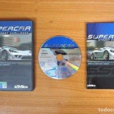 Videojuegos y Consolas: JUEGO PC 'SUPERCAR, STREET CHALLENGE'.. Lote 101014031