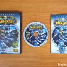 Videojuegos y Consolas: JUEGO PC 'WORLD OF WARCRAFT, WRATH OF THE LICH KING (EXPANSIÓN)', TOTALMENTE EN CASTELLANO.. Lote 101015875