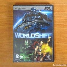 Videojuegos y Consolas: JUEGO PC 'WORLDSHIFT', PRECINTADO, NUEVO, TOTALMENTE EN CASTELLANO.. Lote 101016127