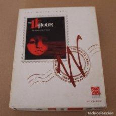Videojuegos y Consolas: THE 11TH HOUR PC BOX CAJA CARTON EN INGLES. Lote 101220539
