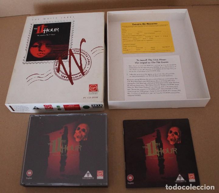 Videojuegos y Consolas: THE 11TH HOUR PC BOX CAJA CARTON EN INGLES - Foto 2 - 101220539