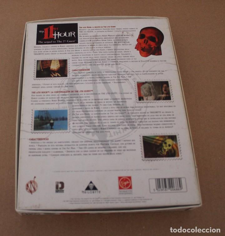 Videojuegos y Consolas: THE 11TH HOUR PC BOX CAJA CARTON EN INGLES - Foto 3 - 101220539