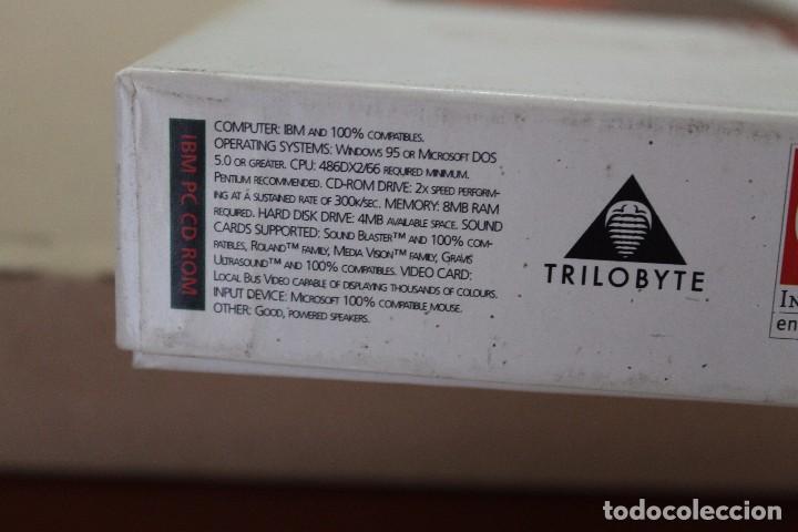 Videojuegos y Consolas: THE 11TH HOUR PC BOX CAJA CARTON EN INGLES - Foto 4 - 101220539