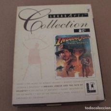 Videojuegos y Consolas: INDIANA JONES AND THE FATE OF ATLANTIS PC BOX CAJA CARTON EDICION FRANCESA. Lote 101220851