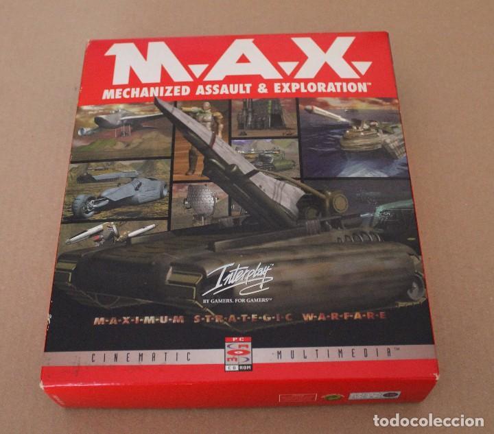 M.A.X. PC BOX CAJA CARTON (Juguetes - Videojuegos y Consolas - PC)