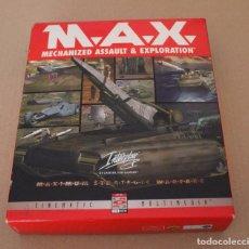 Videojuegos y Consolas: M.A.X. PC BOX CAJA CARTON. Lote 101223731