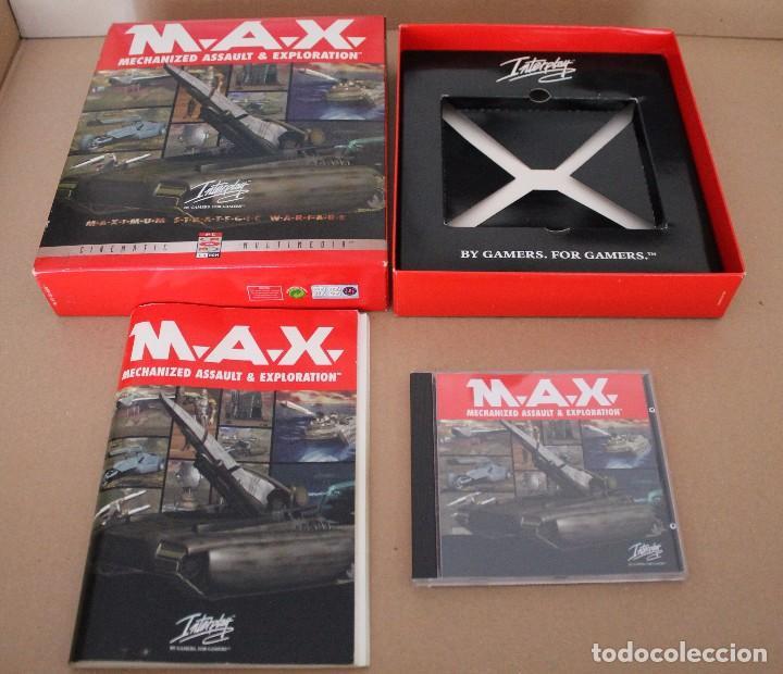 Videojuegos y Consolas: M.A.X. PC BOX CAJA CARTON - Foto 2 - 101223731