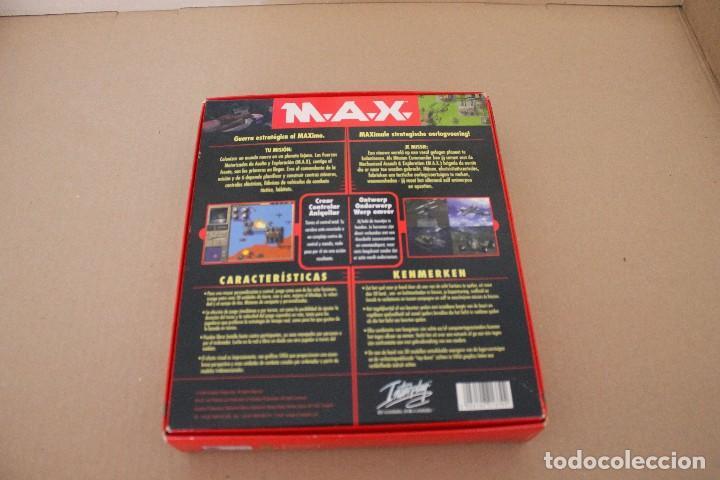 Videojuegos y Consolas: M.A.X. PC BOX CAJA CARTON - Foto 3 - 101223731