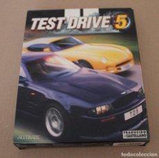 Videojuegos y Consolas: TEST DRIVE 5 PC BOX CAJA CARTON. Lote 101225143