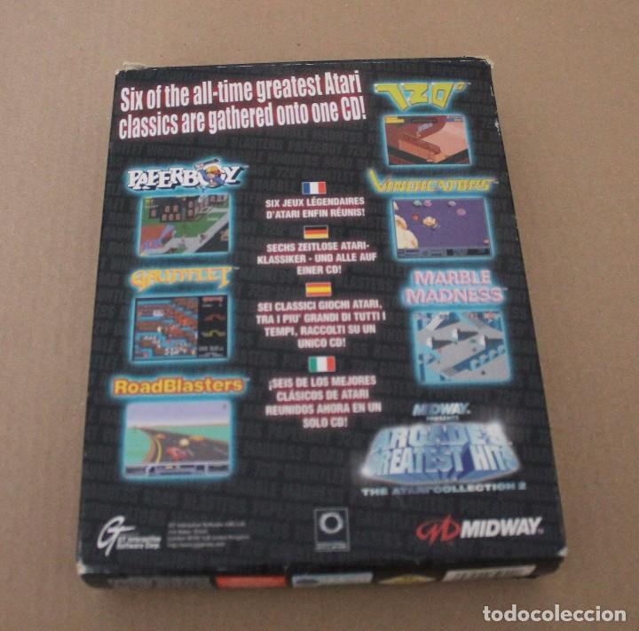Videojuegos y Consolas: ARCADE'S GREATEST HITS THE ATARI COLLECTION 2 PC BOX CAJA CARTON - Foto 3 - 101226811