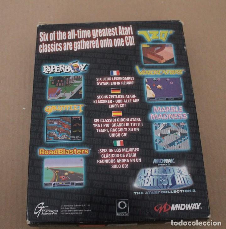 Videojuegos y Consolas: ARCADE'S GREATEST HITS THE ATARI COLLECTION 2 PC BOX CAJA CARTON - Foto 6 - 101226811