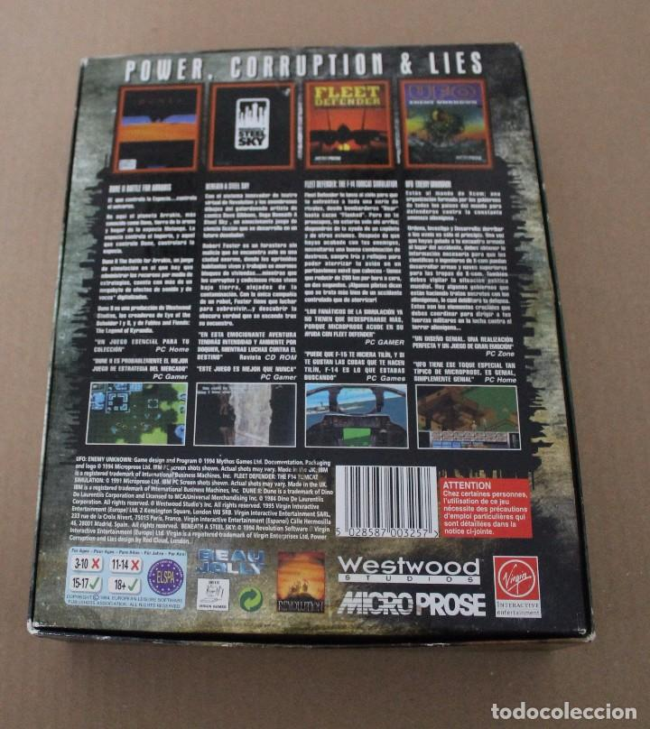 Videojuegos y Consolas: POWER CORRUPTION & LIES PC BOX CAJA CARTON - Foto 5 - 101228651