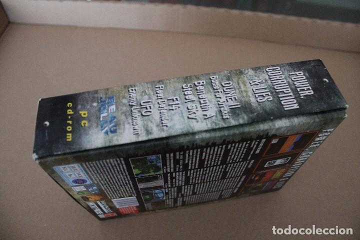 Videojuegos y Consolas: POWER CORRUPTION & LIES PC BOX CAJA CARTON - Foto 6 - 101228651