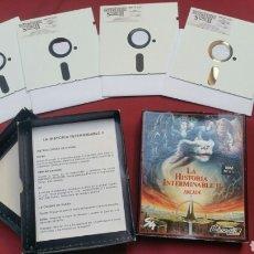 Videojuegos y Consolas: LA HISTORIA INTERMINABLE II. ARCADE. IBM PC 5 1/4.. Lote 101375928