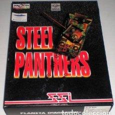 Videojuegos y Consolas: STEEL PANTHERS [STRATEGIC SIMULATIONS] [1995] PROEIN SOFT LINE [JUEGOS CD-ROM] [PC CDROM]. Lote 102062275