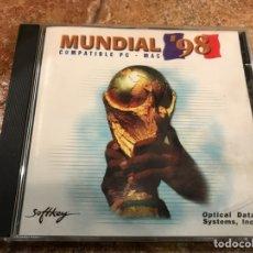Videojuegos y Consolas: CD INTERACTIVO MUNDIAL FRANCIA 98 PC. Lote 102076600
