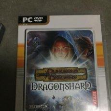 Videojuegos y Consolas: JUEGO PC ATARI DUNGEONS AND DRAGONS DRAGONSHARD PC. Lote 24204133