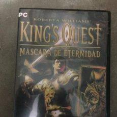 Videojuegos y Consolas: JUEGO PC KING'S QUEST, MASCARA DE ETERNIDAD PC. Lote 24204440