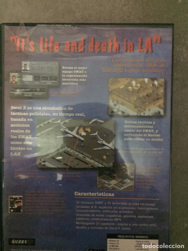 Videojuegos y Consolas: JUEGO PC POLICE QUEST SWAT 2 - Foto 2 - 24405478