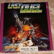 Videojuegos y Consolas: LAST DUEL 3PCN 99 PC 3 1/2 EGA CGA TANDY 512 K. 1990. ERBE. Lote 102281823